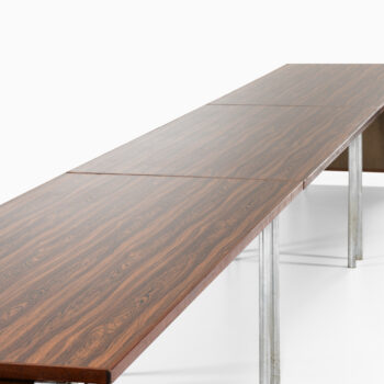 Hans Wegner conference / dining table at Studio Schalling