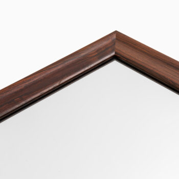Rosewood mirror by Ota at Studio Schalling
