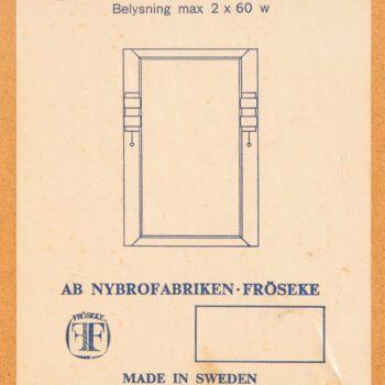 Mirror model Aristokrat by Fröseke at Studio Schalling