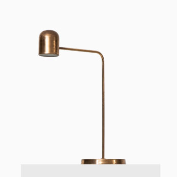 Bergbom table lamp in brass at Studio Schalling