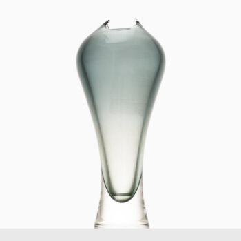 Large glass vase by unknown designer at Studio Schalling