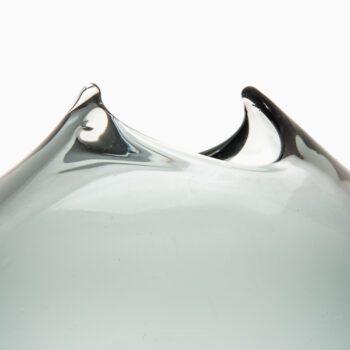 Large glass vase by unknown designer at Studio Schalling