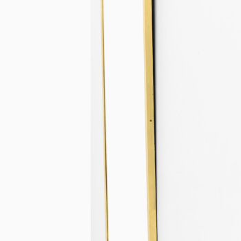 Mirror in brass attributed to Josef Frank at Studio Schalling
