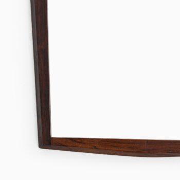 Rosewood mirror by Jansen spejle at Studio Schalling