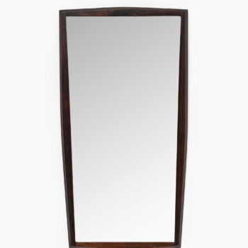 Rosewood mirror by Jansen spejle at Studio Schalling