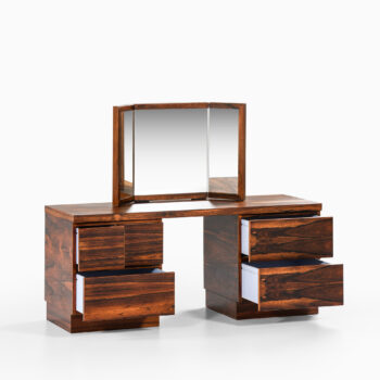 Rosewood vanity by unknown designer at Studio Schalling