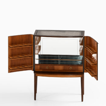 Rosewood bar cabinet by unknown designer at Studio Schalling