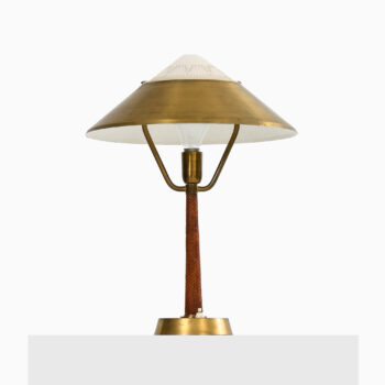 Table lamp in brass by AB E. Hansson at Studio Schalling