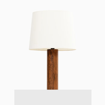 Table lamps in rosewood at Studio Schalling