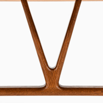 Hans Wegner desk model JH-563 in teak at Studio Schalling