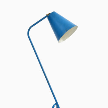 Blue floor lamp by unknown designer at Studio Schalling