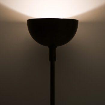 Large floor lamp in brass by unknown designer at Studio Schalling