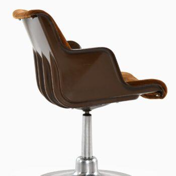 Yrjö Kukkapuro dining chairs by Haimi at Studio Schalling