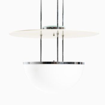 Large ceiling lamps by Nybro armatur at Studio Schalling