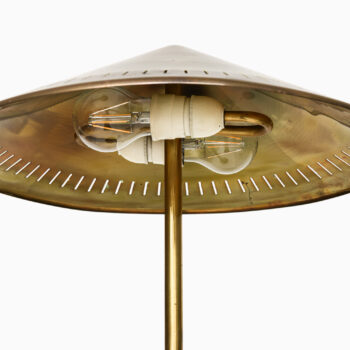 Bent Karlby table lamp in brass by Lyfa at Studio Schalling