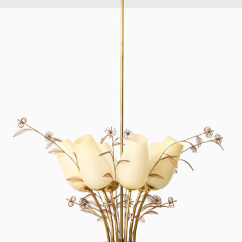 Paavo Tynell ceiling lamps by Taito Oy at Studio Schalling