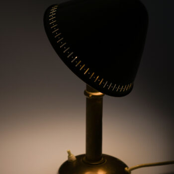 Table lamp in brass produced by ASEA at Studio Schalling
