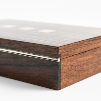Hans Hansen decorative box in rosewood at Studio Schalling