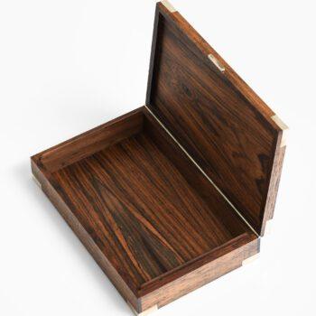 Hans Hansen decorative box in rosewood at Studio Schalling