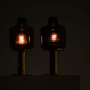 Hans-Agne Jakobsson table lamps model B-102 at Studio Schalling