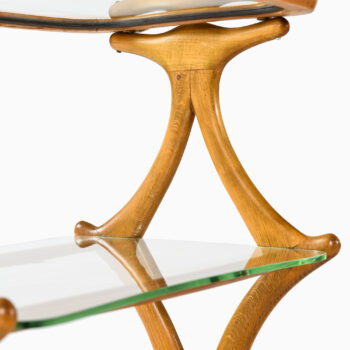 Cesare Lacca attributed trolley in pear wood at Studio Schalling