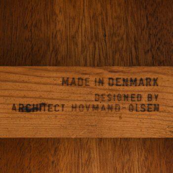 Arne Hovmand-Olsen dining table in teak at Studio Schalling