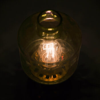 Hans-Agne Jakobsson B-102 table lamp in brass at Studio Schalling