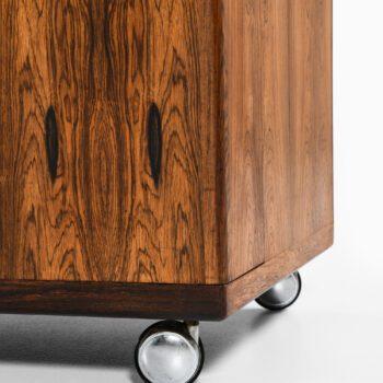 Illum Wikkelsø bar cabinet in rosewood at Studio Schalling
