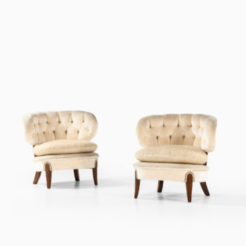 Otto Schulz easy chairs by Boet at Studio Schalling