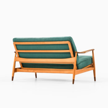 Arne Vodder sofa model 161 in beech at Studio Schalling