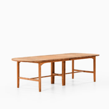 Carl Malmsten dining table in solid pine at Studio Schalling