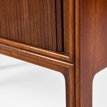 Tambour cabinet in cuban mahogany at Studio Schalling