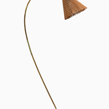 Floor lamp in brass by Idman at Studio Schalling