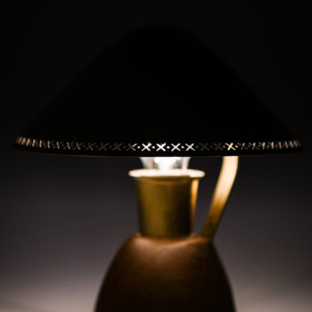 Pair of table lamps by ASEA in brass at Studio Schalling