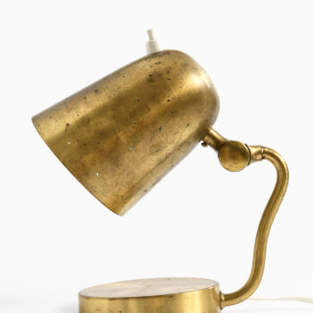 Table / wall lamp in brass by Boréns at Studio Schalling