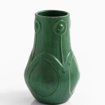 Karl Persson ceramic vase by Höganäs at Studio Schalling