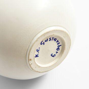 Ceramic vase by Gustavsberg at Studio Schalling