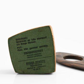 Gunnar Kanevad sculpture / letter knife at Studio Schalling