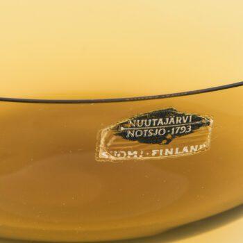 Kaj Franck glass bowls by Nuutajärvi Notsjö at Studio Schalling