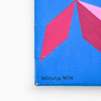 Wilhelm Wik small oil painting at Studio Schalling