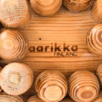 Kaija Aarikka sculpture in oregon pine at Studio Schalling