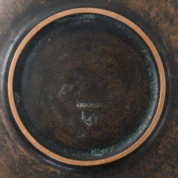 Gunnar Nylund bronze bowl at Studio Schalling