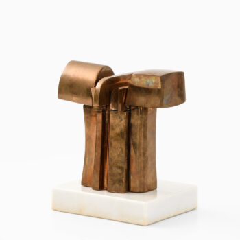 José Luis Sanchez sculpture in bronze at Studio Schalling