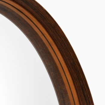 Nils Troed table mirror in rosewood at Studio Schalling