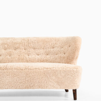 Gösta Jonsson sofa in sheepskin at Studio Schalling