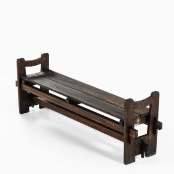 Axel Einar Hjorth bench model Skoga at Studio Schalling