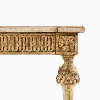 Gustavian console table from ca 1790 at Studio Schalling