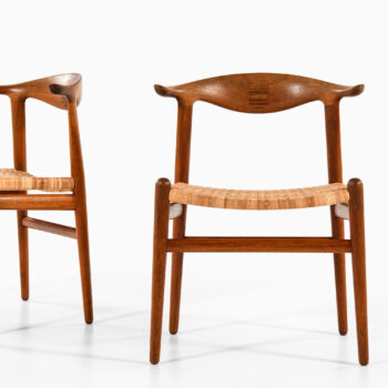 Hans Wegner JH-505 armchairs in teak at Studio Schalling