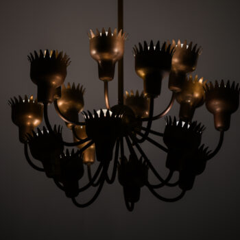 Hans Bergström ceiling lamp model nr 90 at Studio Schalling