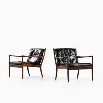 Ib Kofod-Larsen easy chairs model Samsö at Studio Schalling
